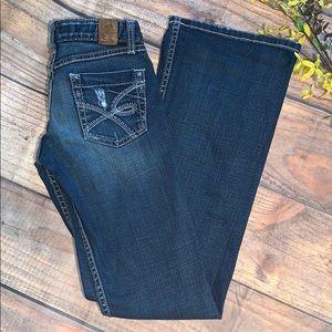 BKE Sabrina Jeans Size 25 X 33 1/2